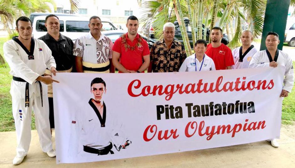 Su nombre es Pita Taufatofua y es seleccionado de Taekwondo. (Foto: Pita Taufatofua)