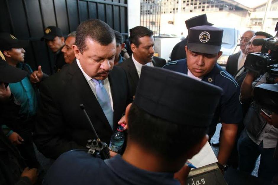 Tono Coro fue trasladado a la Torre de Tribunales. (Foto: Alejandro Balan/Soy502)