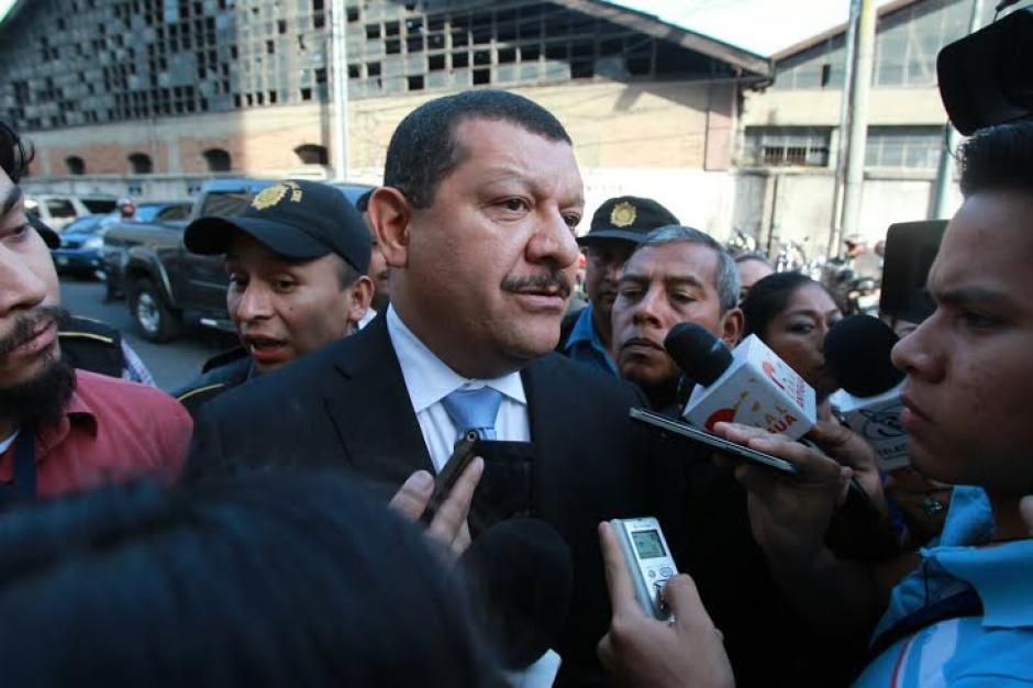 Coro dijo que su única responsabilidad fue llevar a Santa Catarina Pinula a a ser el mejor municipio de Guatemala. (Foto: Alejandro Balan/Soy502)