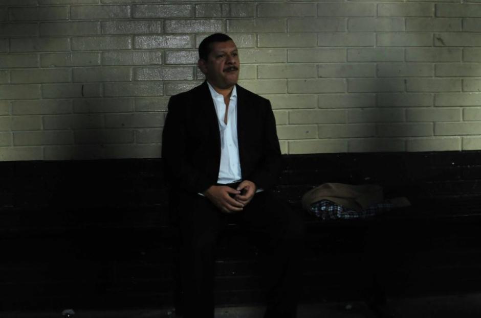 José Antonio Coro permaneció en la carceleta de Torre de Tribunales. (Foto: Alejandro Balan/Soy502)
