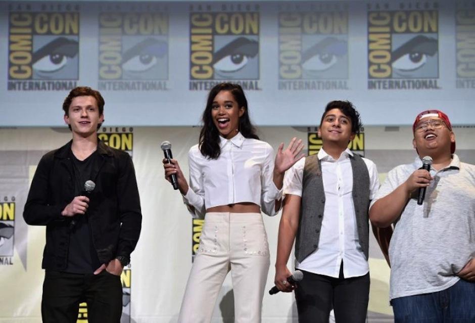 Durante la exposición más grande comics y cine de ciencia ficción se hizo la presentación del elenco. (Foto: AFP)