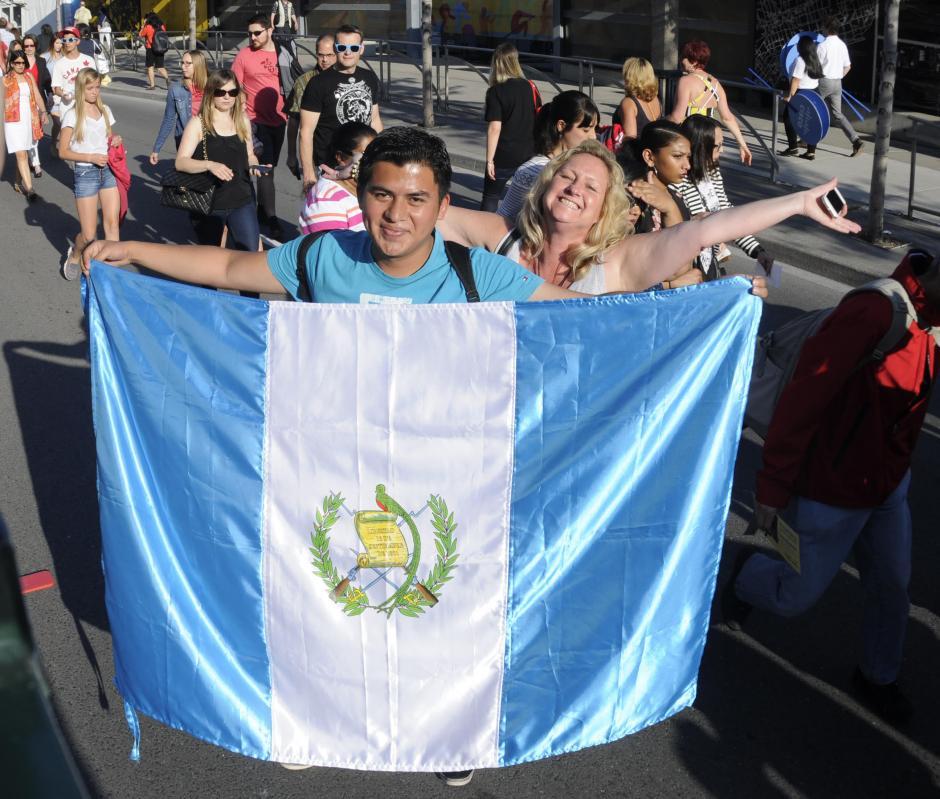 Miles de personas incluidos guatemaltecos viven de cerca en Canadá los Juegos Panamericanos. (Foto: Álvaro Yol/NuestroDiario)
