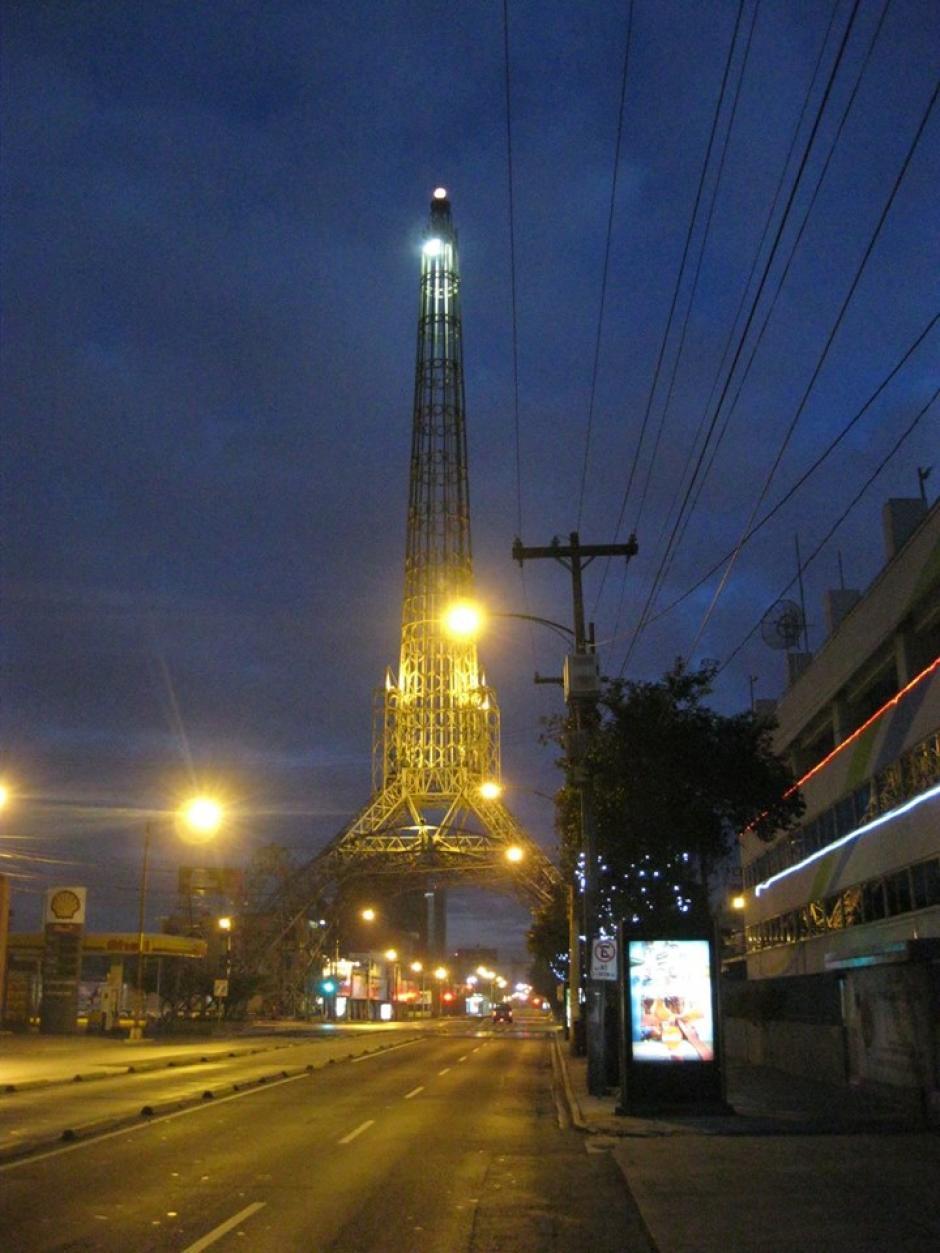 La Torre del Reformador fue el escenario de la acción. (Foto: Panchorizo)