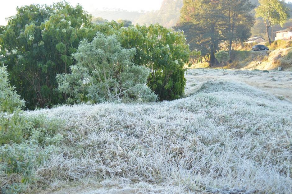 Totonicapán también se vio afectado por el frente frío que azota el territorio nacional. (Foto: José García/Nuestro Diario)