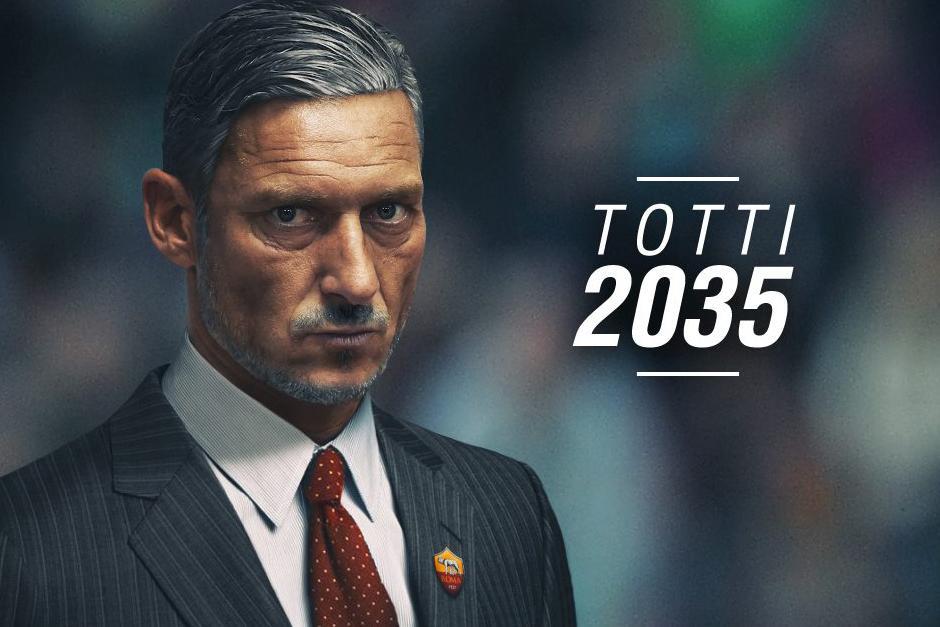 Así podría lucir el futbolista Franceso Totti. (Foto: Top eleven)