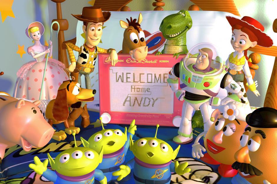 Los juguetes esperaban a Andy para jugar. (Foto: jessiejanelightyear.tumblr.com)