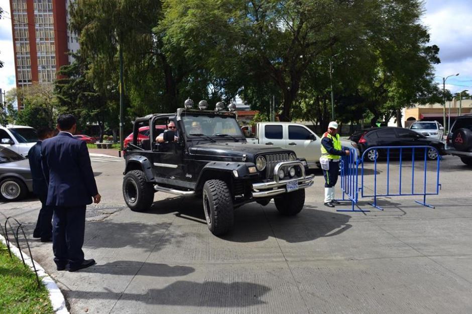 Las calles de la zona 10 son las más afectadas porque allí se hospedan varias delegaciones internacionales. (Foto: Jesús Alfonso/Soy502)