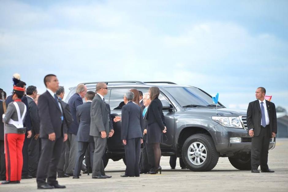 El traslado de las delegaciones oficiales genera tráfico en varios puntos de la ciudad. (Foto: Jesús Alfonso/Soy502)