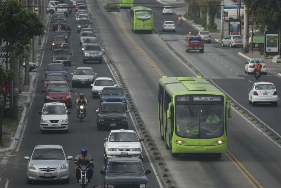 Transmetro cuenta con cuatro líneas de transporte. (Foto: Archivo/Soy502)