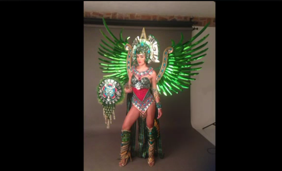 """La joven usará un traje de fantasía llamado """"Quetzalí, princesa de jade"""". (Foto: Miss Universe 2017)"""