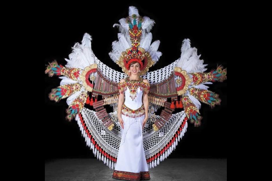 Este es el traje de fantasía que Aburto usará en la gala de Miss Universo. (Foto: Jeimmy Aburto)