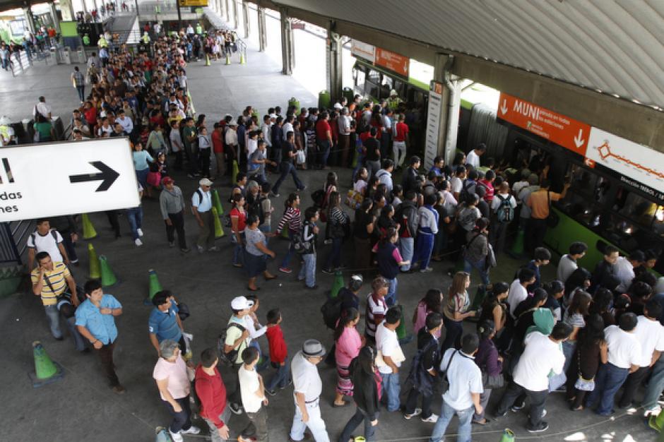 El acoso fue realizado durante la hora pico. (Foto: Archivo/Soy502)