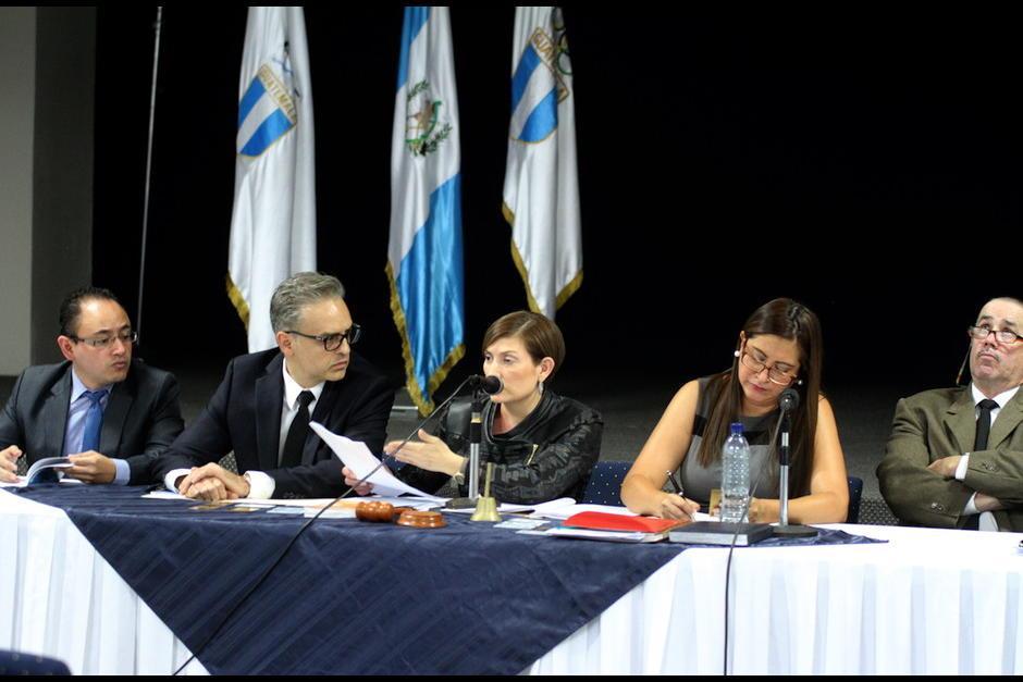 Los miembros del Tribunal de Honor de CDAG suspenden a federativos de fútbol.  (Foto: Luis Barrios/Soy502)