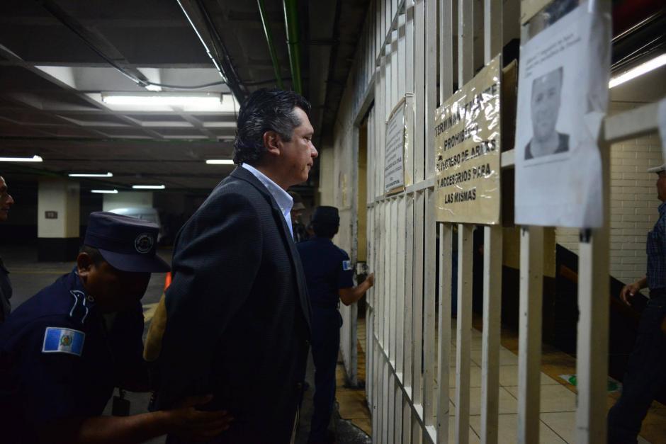 El exsecretario privado y yerno de Pérez Molina es sindicado en el caso TCQ. (Foto: Jesús Alfonso/Soy502)