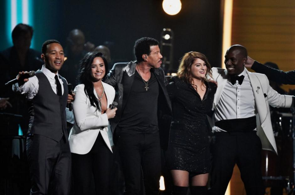 Un emotivo tributo recibió la estrella Lionel Richie. (Foto: The Hollywood Reporter)