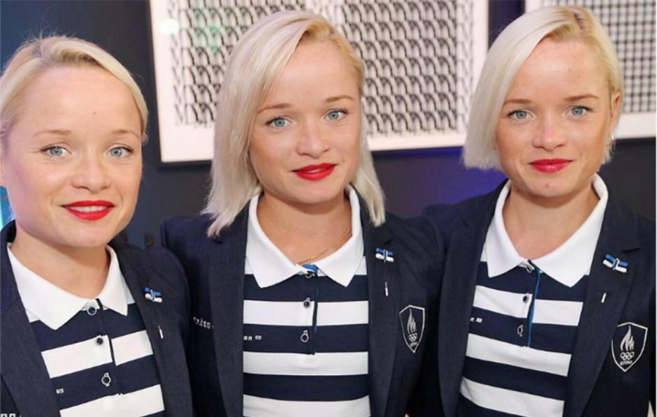Las hermanas son trillizas idénticas y esperan birllar en Río 2016. (Foto: Trio to Río)