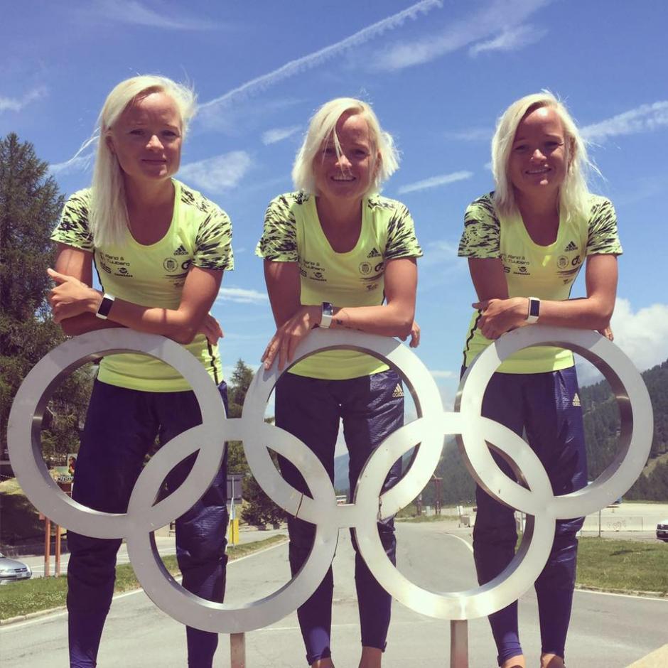 Las hermanas idénticas, de 30 años, llegarán a Río 2016 con excelentes marcas para el Maratón. (Foto: Trío to Río)