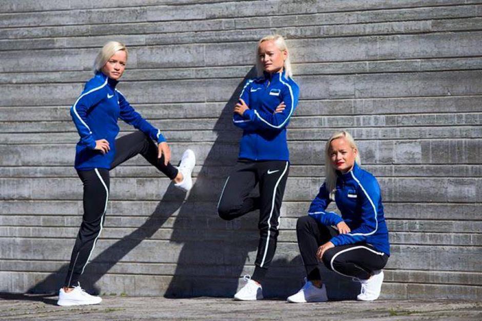 Las hermanas Liuk sueñan con ganar medallas para Estonia en Río 2016. (Foto: Trío to Río)