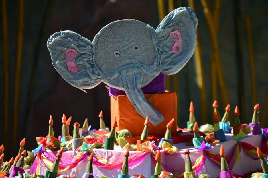 Muchos globos, arreglos y demás sorpresas fueron parte de la celebración para Trompita. (Foto: Wilder López/Soy502)