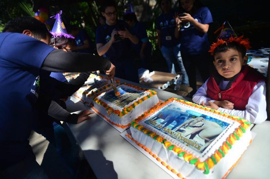 Los pasteles fueron parte de la celebración de Trompita. (Foto: Wilder López/Soy502)