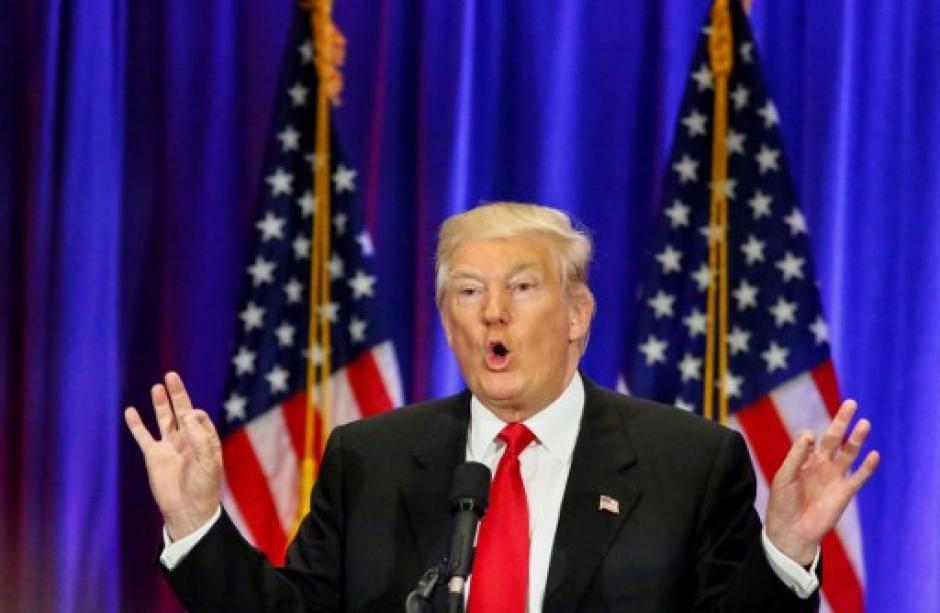Donald Trump hará el anuncio desde Nueva York. (Foto: AFP)