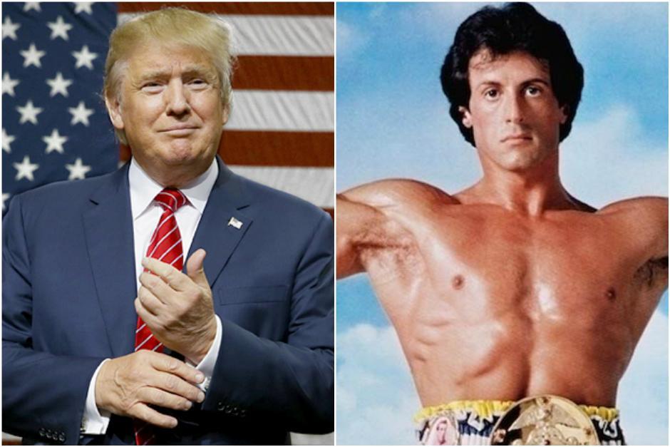 Donald Trump habría ofrecido un puesto a Sylvester Stallone. (Foto: Hoy y Philly)