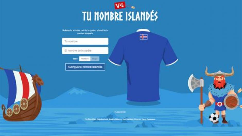 Tu nombre en islandés foto