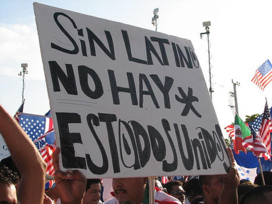 Varios hispanos están en contra de Trump por los comentarios en contra de ellos que ha dicho en su campaña. (Foto: tugentelatina.com)