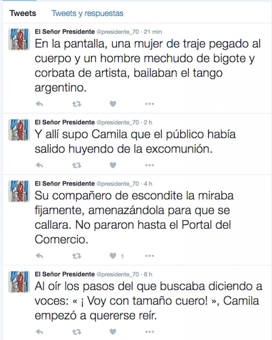 Los tuits culminarán el 19 de octubre, fecha de nacimiento de Asturias. (Foto twitter)