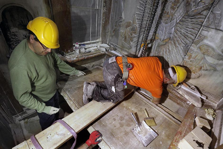 Los trabajos de restauración demorarán cerca de cinco meses. (Foto: RT)