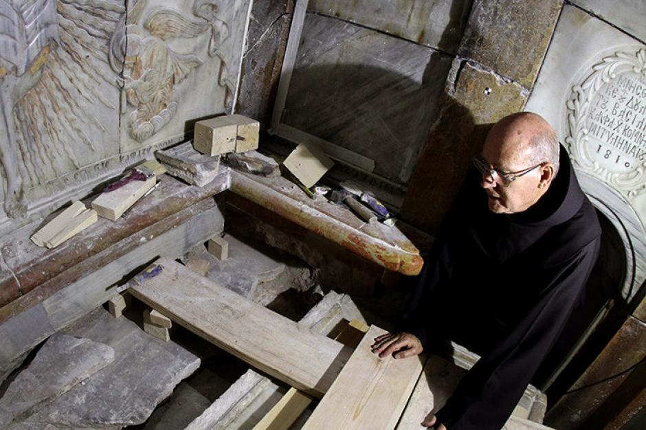 La tumba de Jesucristo está ubicada en la iglesia del Santo Sepulcro en Jerusalén. (Foto: RT)