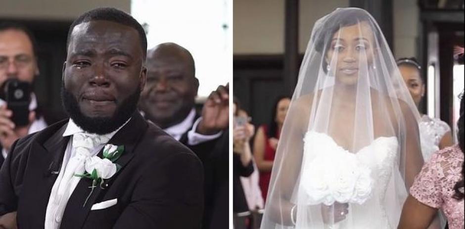 Hace un tiempo se volvió viral el video de una boda que aún conmueve a las redes. (Foto: noticias.yahoo.com)