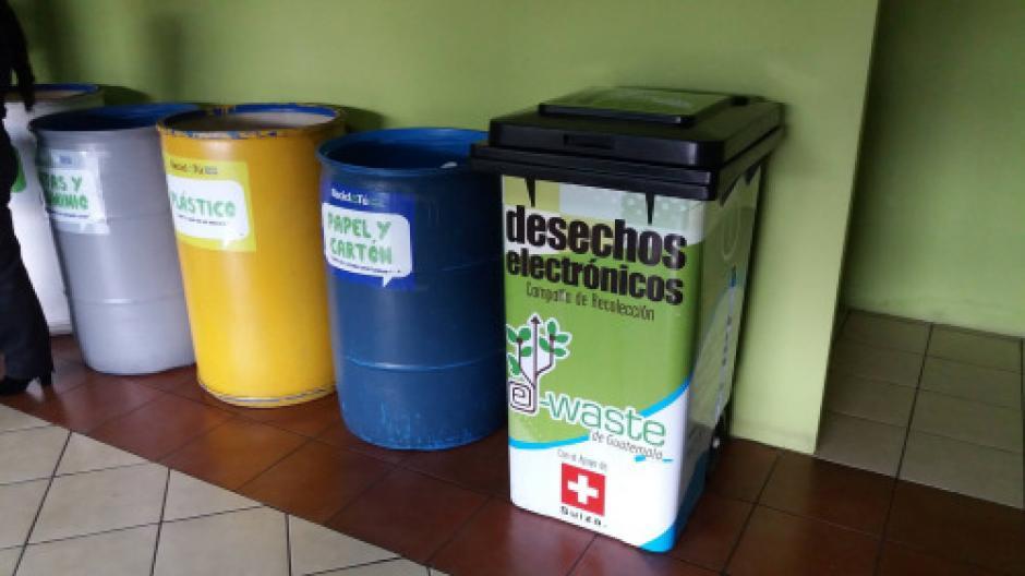 Ahora podrás llevar los desechos electrónicos a las zonas 4 y 18. (Foto: Muni Guate)