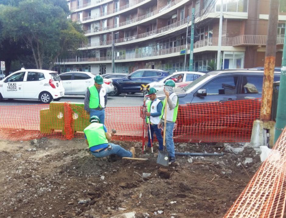 Los trabajos empezaron a principios de esta semana. (Foto: Municipalidad de Guatemala)