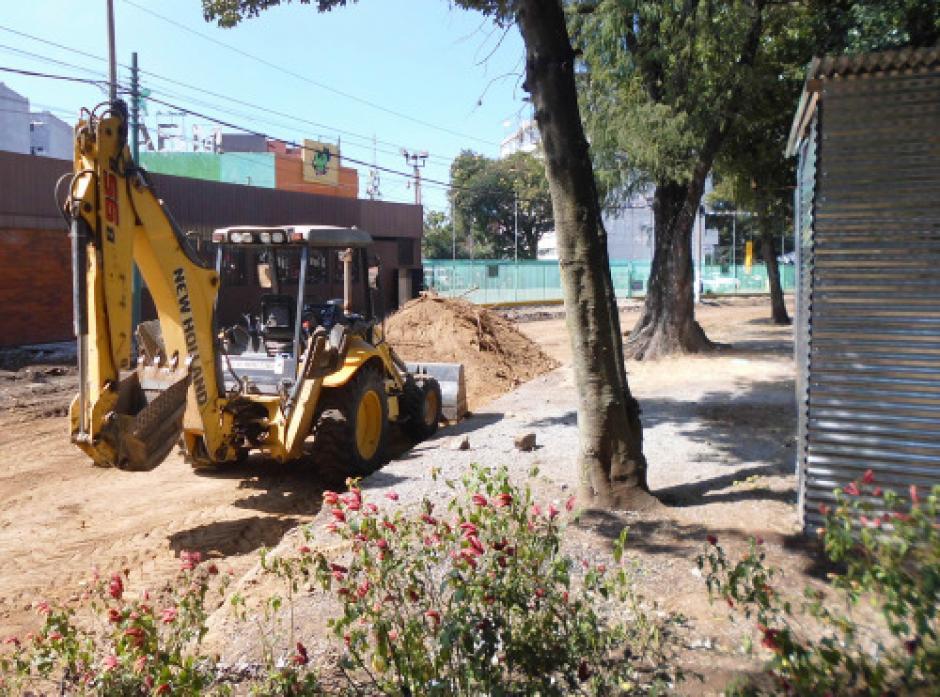 Los carriles principales se movilizarán hacia los carriles auxiliares. (Foto: Municipalidad de Guatemala)