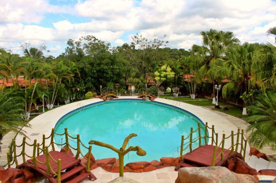 El zoológico privado se encuentra en el hotel Santa Isabel, ubicado en Petén. (Foto: Facebook)