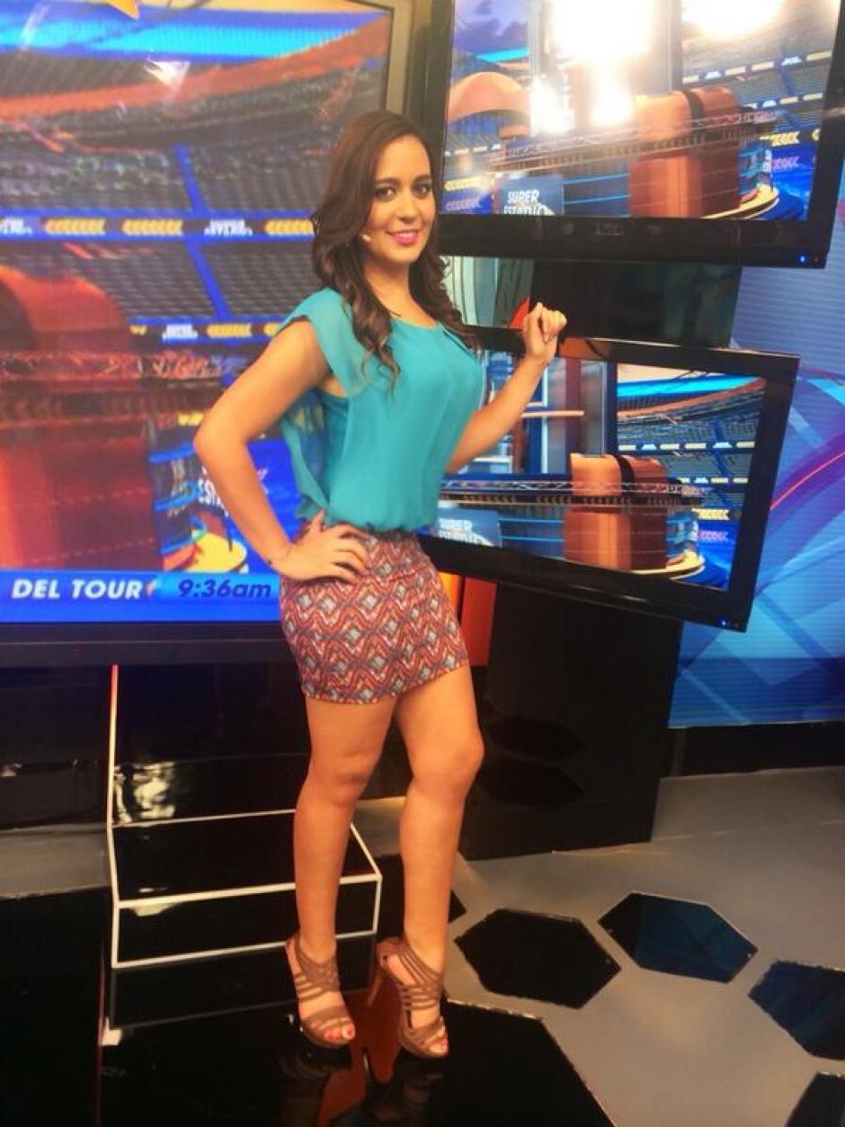 La presentadora mexicana trabaja para Televisa Deportes Network. (Foto: Twitter)