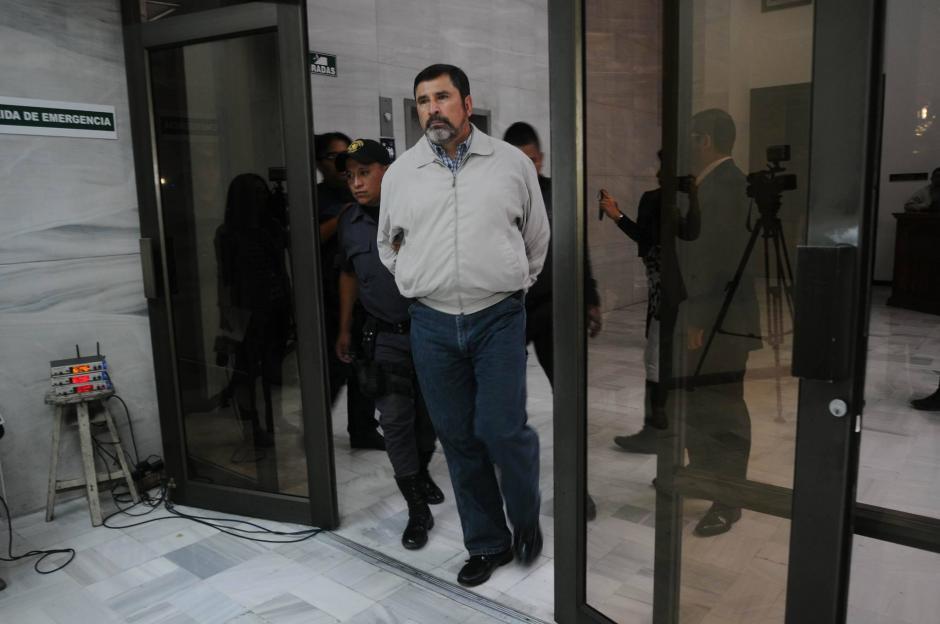 El también exministro de Defensa, Ulises Anzueto, también está acusado en el caso La Cooperacha. (Foto: Alejandro Balan/Soy502)