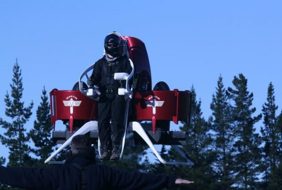El Martin Jetpack mide alrededor de 2 metros. (Foto: Martin Jetpack)