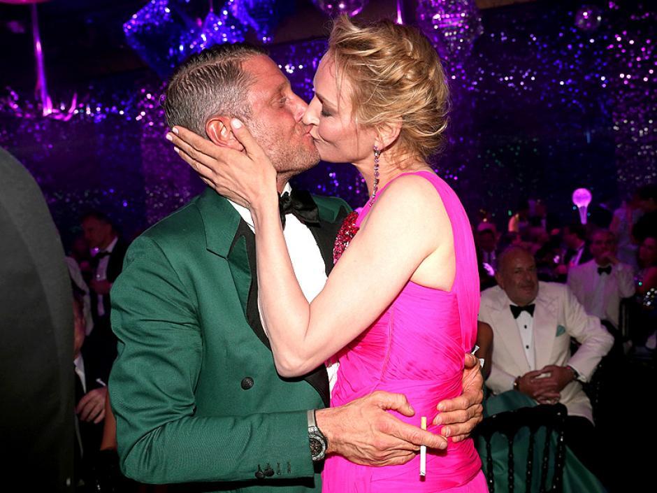 """La actriz subastó un """"pequeño beso"""" pero el comprador se emocionó. (Foto: People)"""
