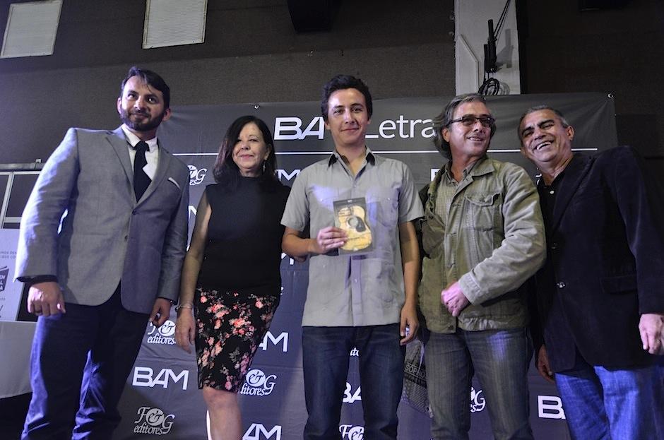 Los ganadores asistirán a la Feria del Libro en Guadalajara. (Foto: Selene Mejía/Soy502)