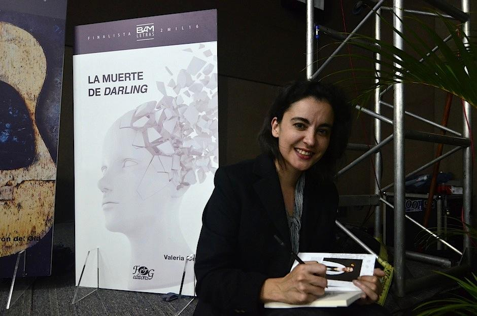 Valeria Cerezo presentó La muerte de darling. (Foto: Selene Mejía/Soy502)