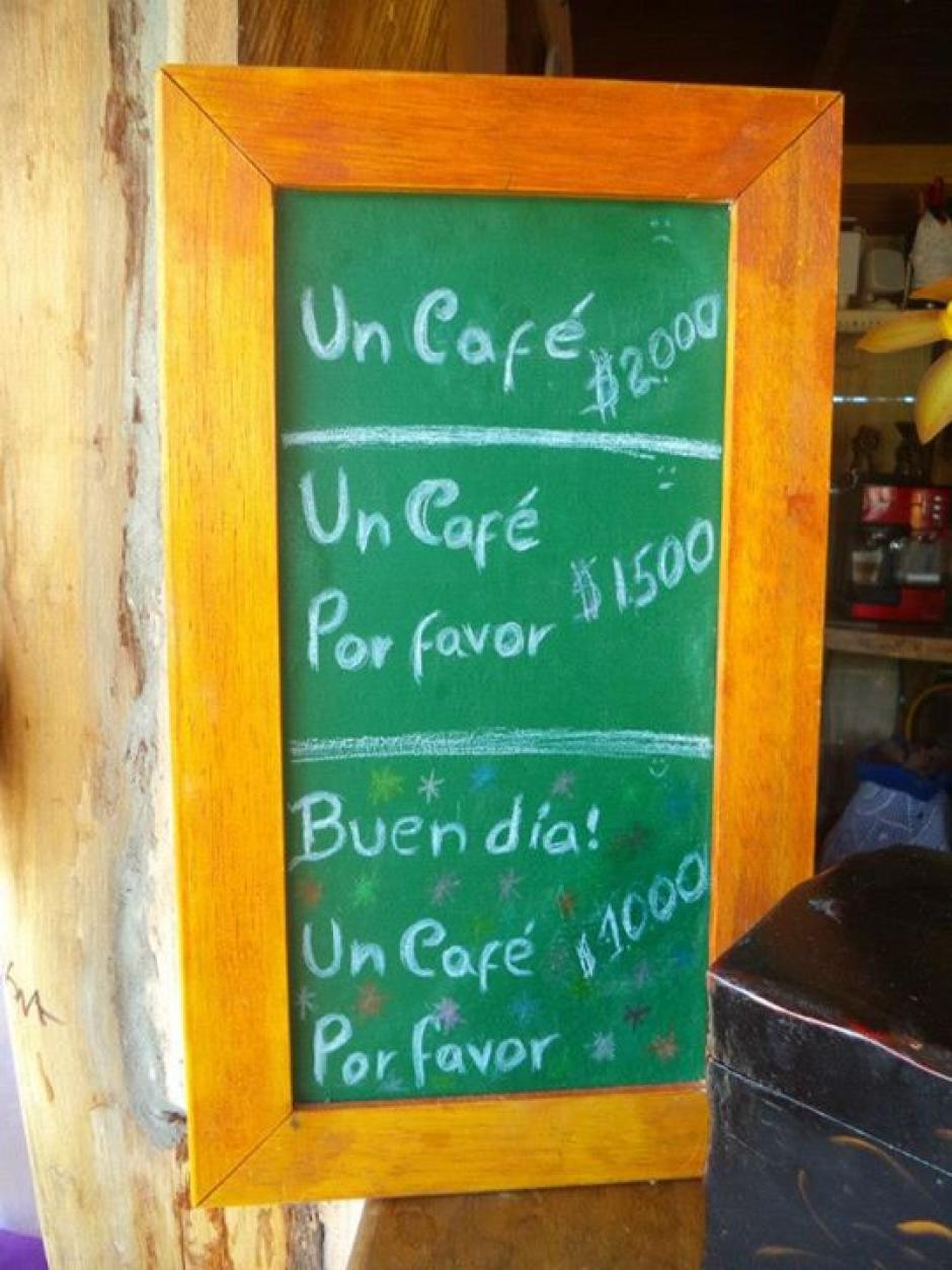 La idea ha sido replicada en varios restaurantes. (Foto: elblogcanalla.com)