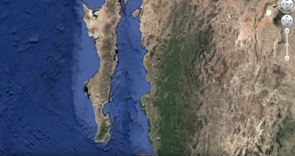 Un bloguero asegura que descubrió una ciudad alienígena. (Captura de pantalla: MEXICOGEEK/YouTube)