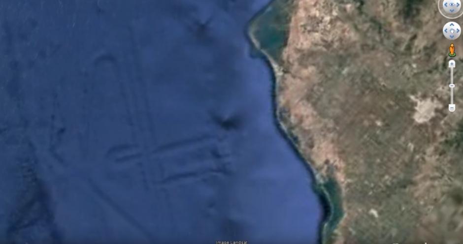 Existe la posibilidad que se trate de una civilización antigua. (Captura de pantalla: MEXICOGEEK/YouTube)