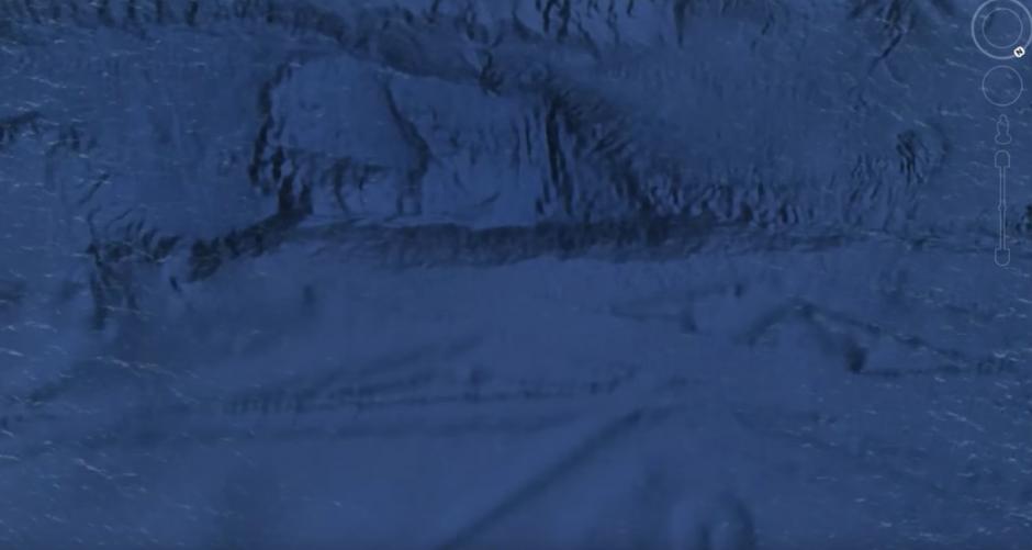 Las estructuras submarinas tienen varios kilómetros de longitud. (Captura de pantalla: MEXICOGEEK/YouTube)