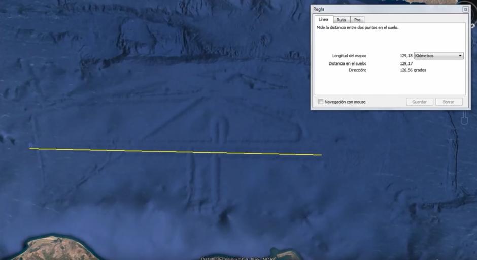 Tienen una longitud de casi 130 kilómetros. (Captura de pantalla: MEXICOGEEK/YouTube)
