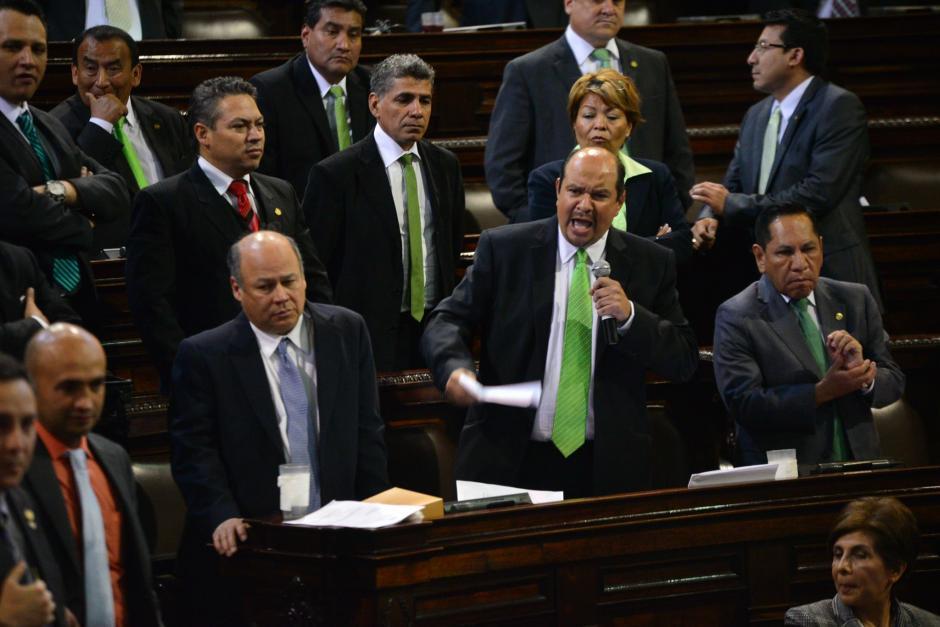 Los diputados de la UNE señalan que se violaron algunas garantías constitucionales. (Foto: Archivo/Soy502)