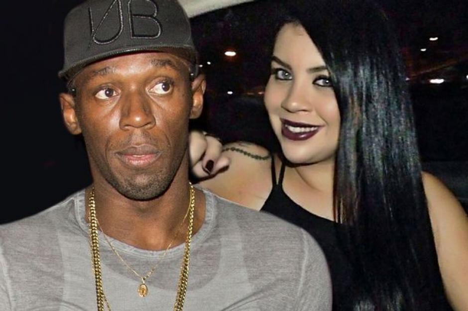 La brasileña conoció a Bolt en un centro nocturno. (Foto: unilad.co.uk)