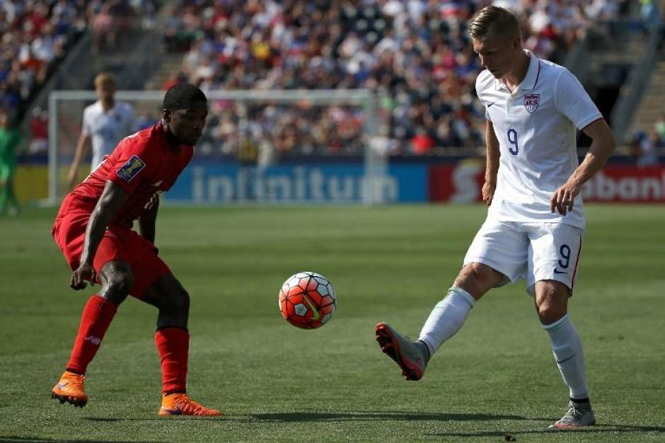La selección de futbol de Panamá vence a Estados Unidos en la Copa Oro 2015 (Foto: AFP)